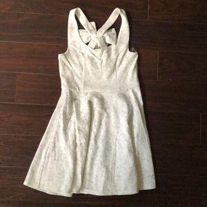 Kaiah Bow Shimmer Dress